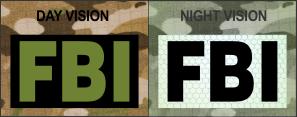 FBI OD Green on IR Magic Black SolasX Patch